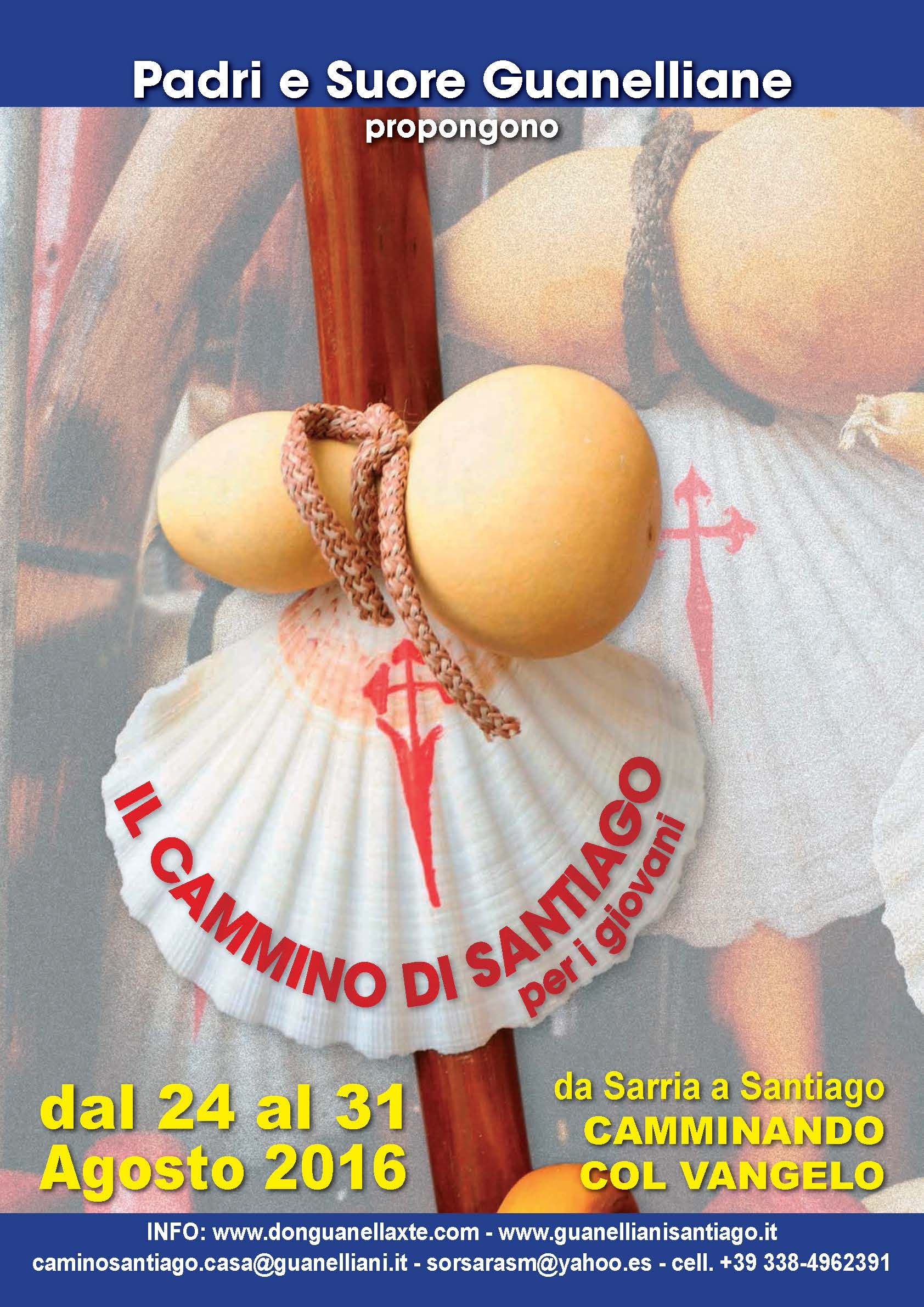 Cammino Santiago 2016
